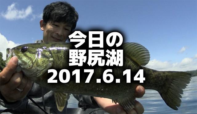 今日の野尻湖♪2017.6.14
