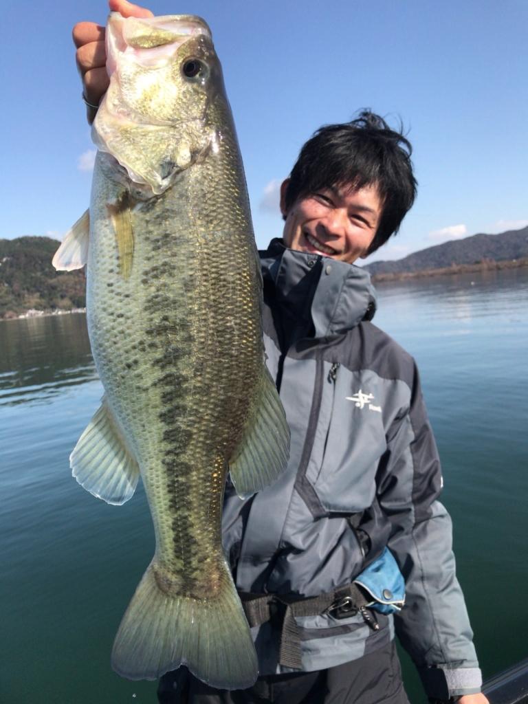今日の琵琶湖♪2017.12.15With タク石黒プロ
