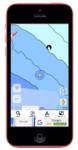 iphone5c+Gmap