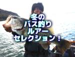 """バス釣り""""冬のルアーセレクション♪"""""""
