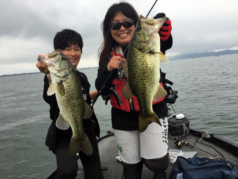 琵琶湖・黒豚船杯レポート