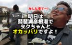 【再掲】 11月4日は琵琶湖彦根港でオカッパリ!