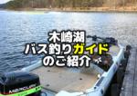 木崎湖バス釣りガイドのご紹介