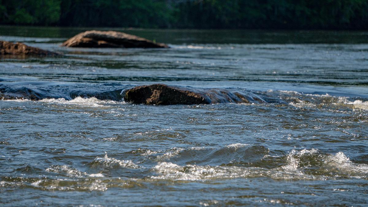 川のバス釣り攻略!流れのレベルを3つに分けて考える