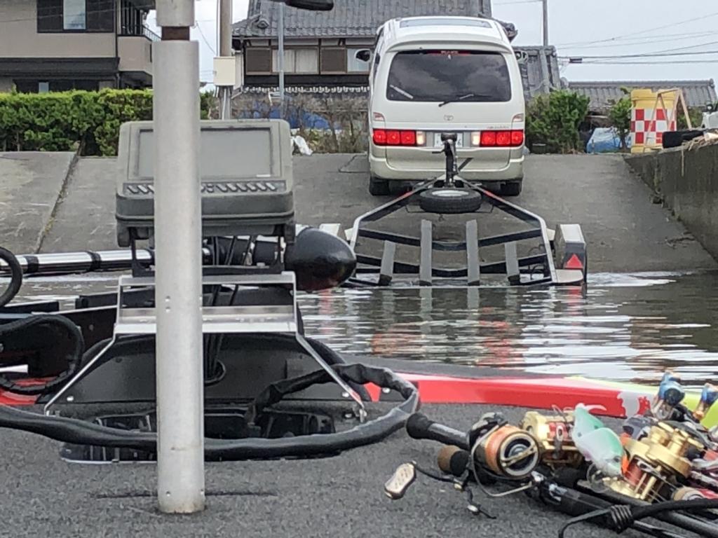 タク石黒プロと琵琶湖バス釣り:2018年6月28日