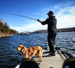 バス釣り:キャロライナリグのアクション