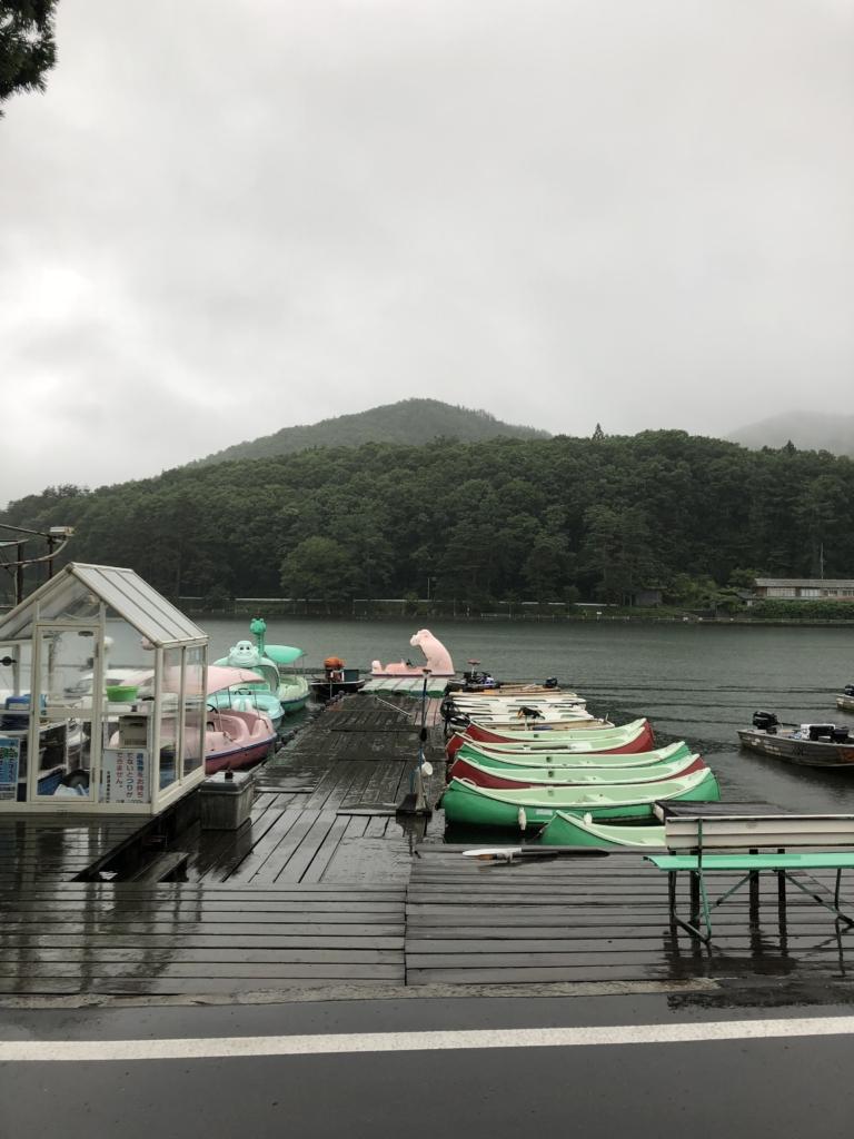 木崎湖でバス釣り:2018.7.8 (イガジグスピン)