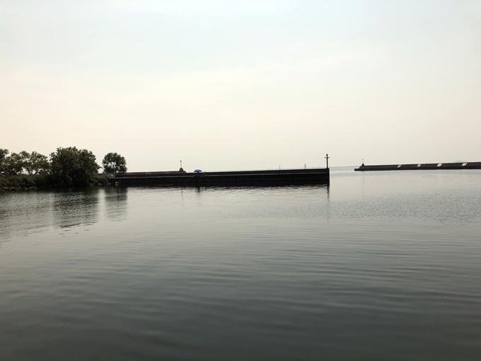 灼熱の夏の琵琶湖でバス釣り:タク石黒プロ×パンチショット