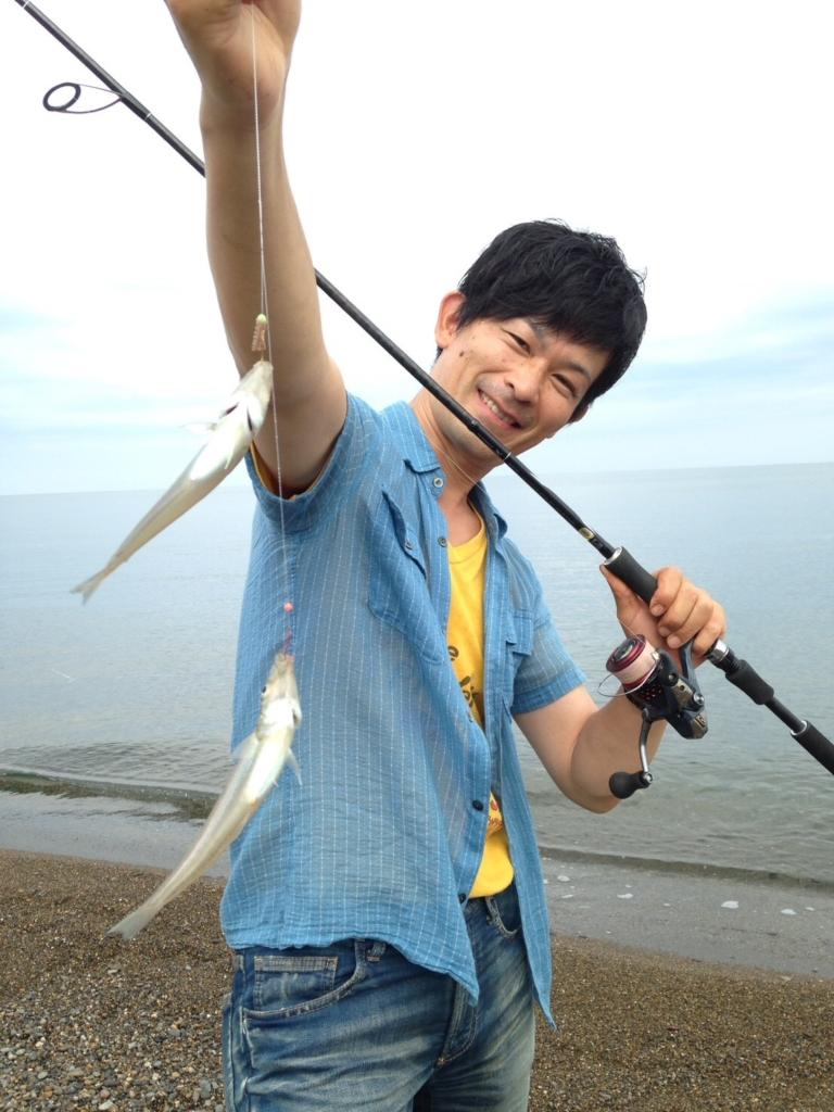 【日記】サーフのシロギス釣り