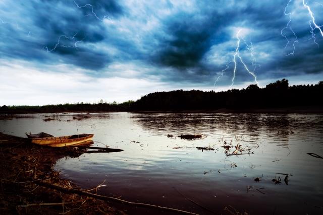 【小ネタ】釣り場の天気を読む