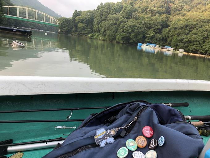 夏の相模湖バス釣りに初挑戦