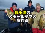 低水温期のスモールマウスバスを釣る
