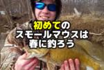 初めてのスモールマウスバスは春に釣ろう