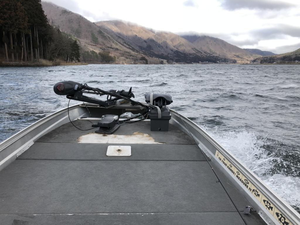 3月の木崎湖:ジグヘッドリグで早春のスモールマウスバス釣り