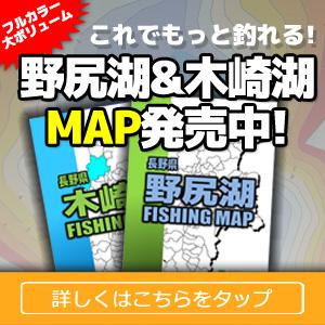 野尻湖・木崎湖ポイントマップ