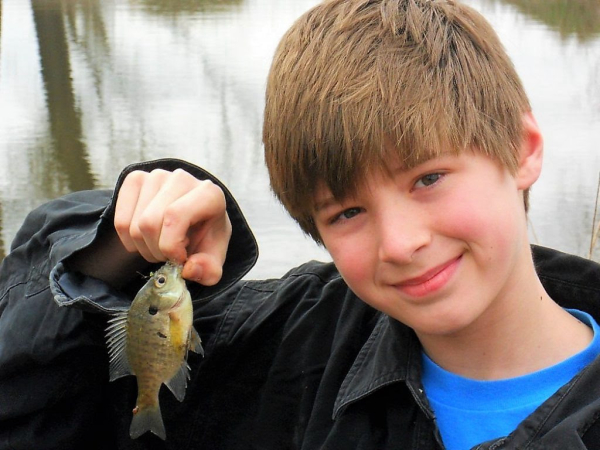 子供と釣りをしましょう