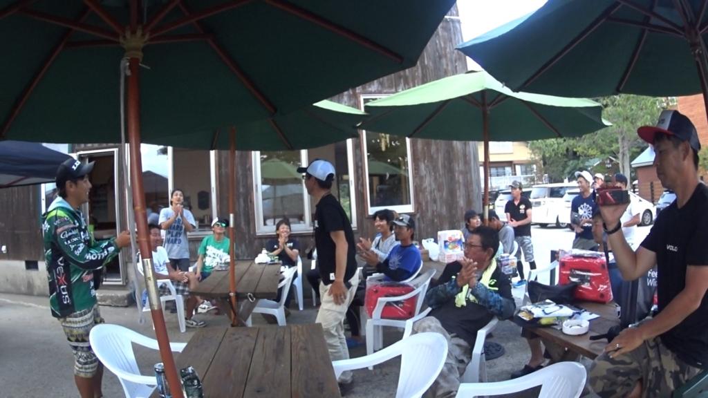 9月の野尻湖:キャロシャッドでバス釣り:五十嵐誠を(平日も)倒せカップ