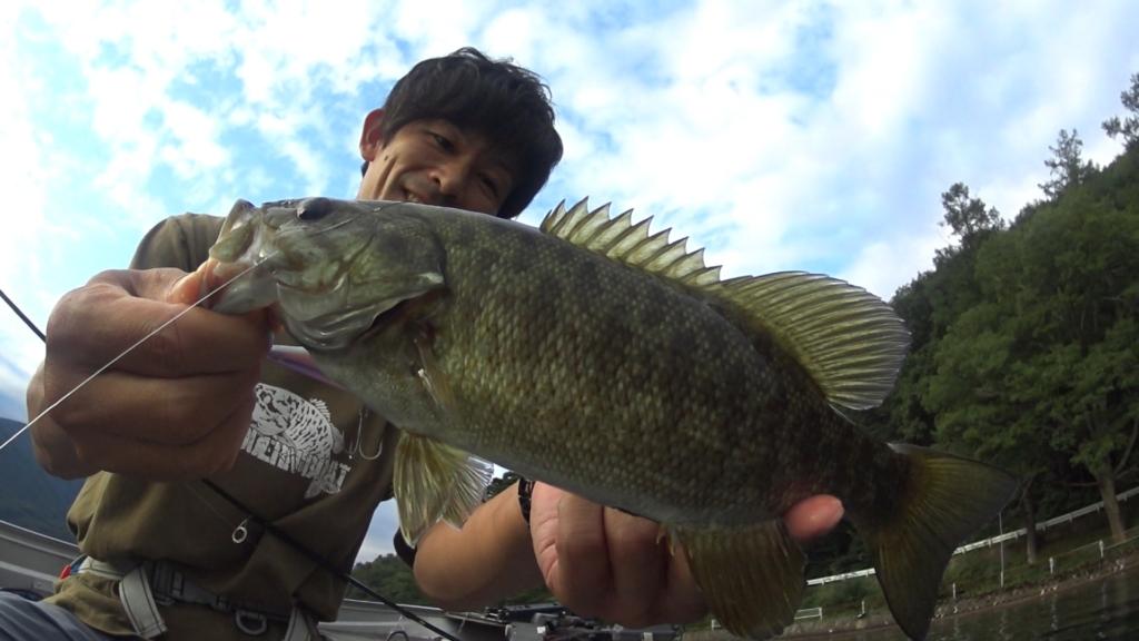 9月:秋の木崎湖でキャロシャッドのバス釣り