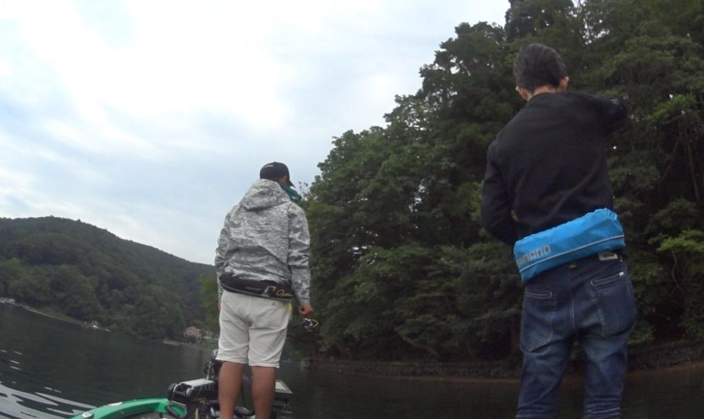 秋の野尻湖:五十嵐誠を倒せ!?カップバス釣りレポート