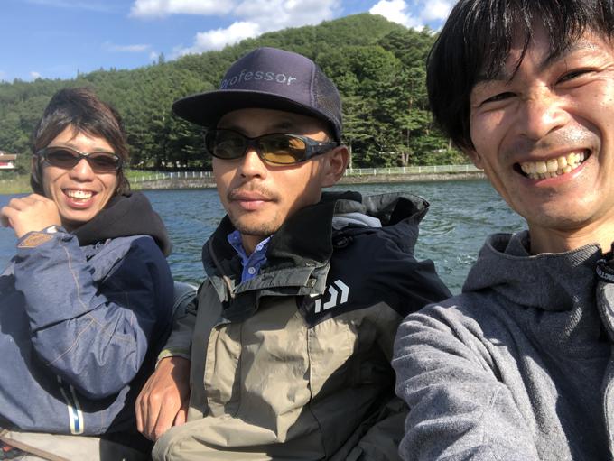 秋の木崎湖バス釣り練習!?