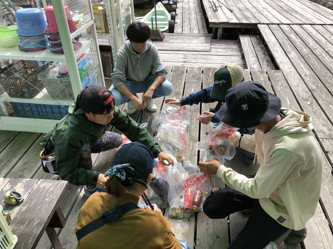 木崎湖クリーンアップとI字系でバス釣り