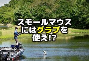 スモールマウスバスを釣るにはグラブを使え!?:ブランドン・カード