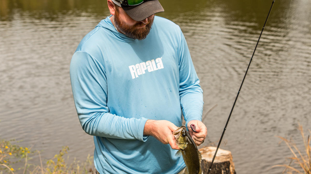 減水時のおかっぱりバス釣りの釣り方
