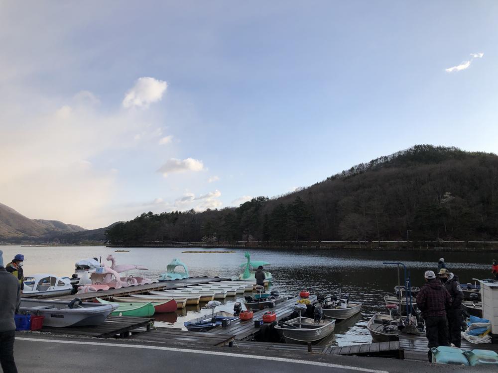 木崎湖モダンボートシリーズ第1戦(4/18)レポート