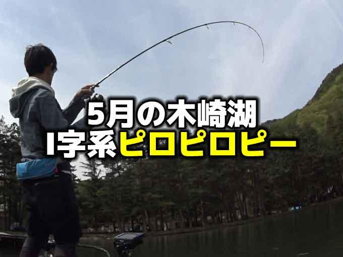 5月の木崎湖バス釣り:シャッドテールのノーシンカーでI字系ピロピロピー