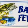 ブリキナンバープレート 【BASS FEVER】 |バスルアー・タックル通販専門の野尻湖釣
